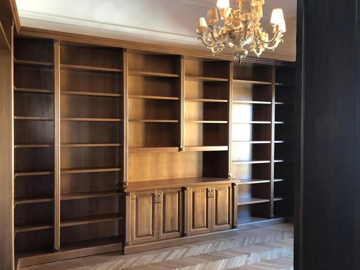 Libreria In Legno Noce.Librerie In Legno Il Fascino Esclusivo Di Falegnameria Su Misura