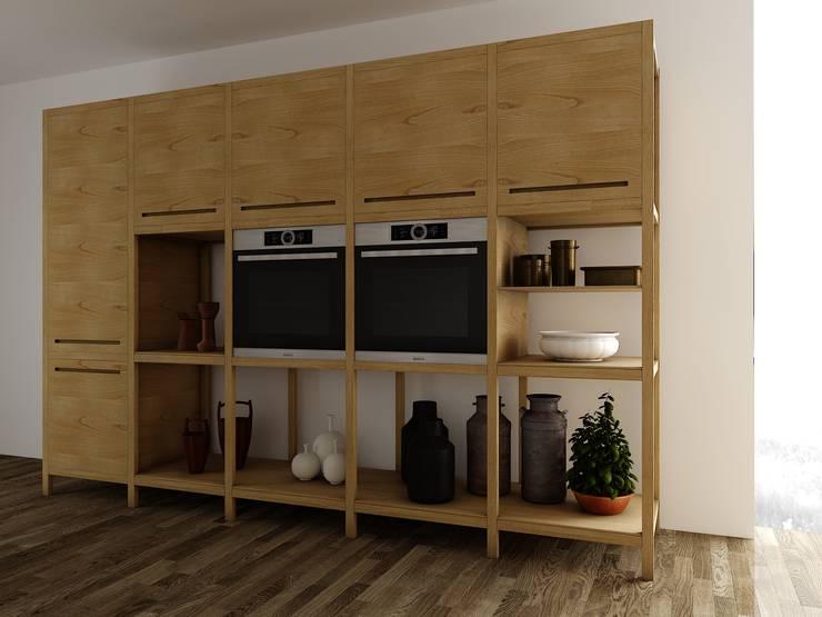 mobiliario 001: Cocina de estilo  por Carlos Guevara