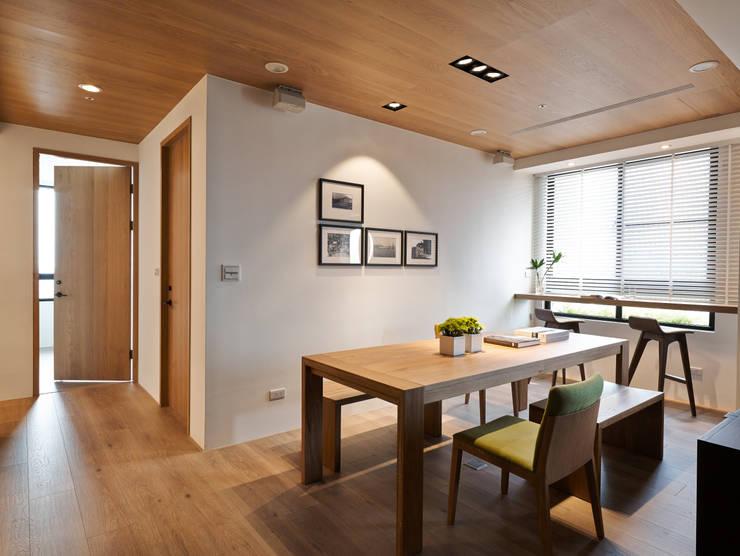 知己樹廈:  餐廳 by Fertility Design 豐聚空間設計