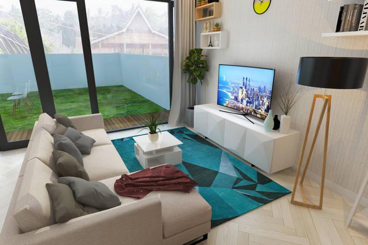 Ruang Keluarga:  Ruang Keluarga by Arsitekpedia