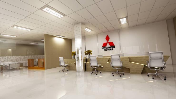 Mitsubishi Interior:   by Arsitekpedia