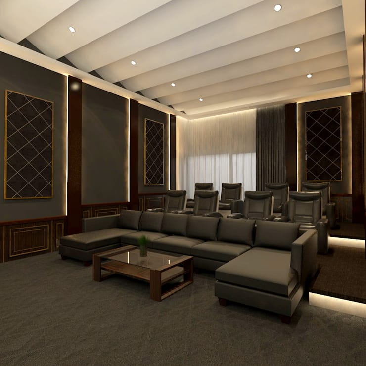 Home Theater:   by Arsitekpedia