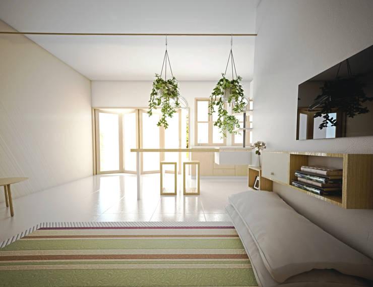Living room by r.studio