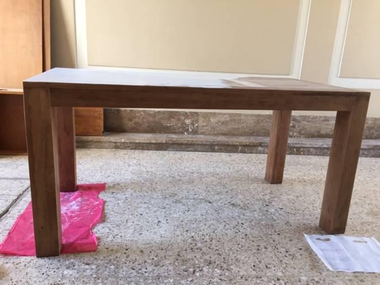 Mesa decapada por ANADECO: Livings de estilo  por ANADECO