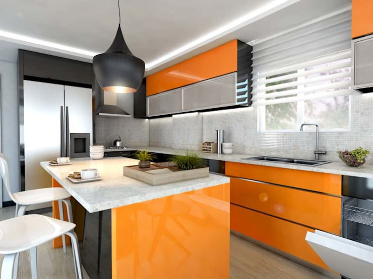 Kitchen units by ANTE MİMARLIK