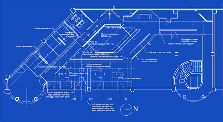 Pianta degli uffici:  in stile  di Daniele Arcomano