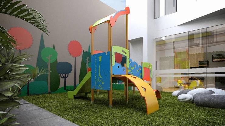 Zona de Juegos: Jardines de estilo  por K'ANKA