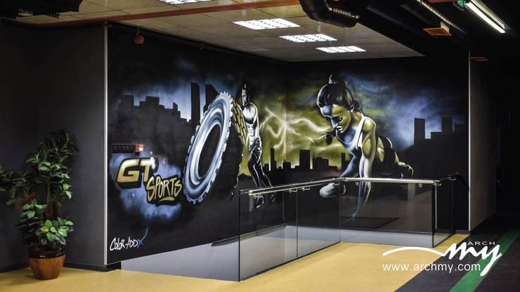 ARCHMY Mimarlık – Karşıyaka GT Spor Merkezi:  tarz Etkinlik merkezleri, Modern