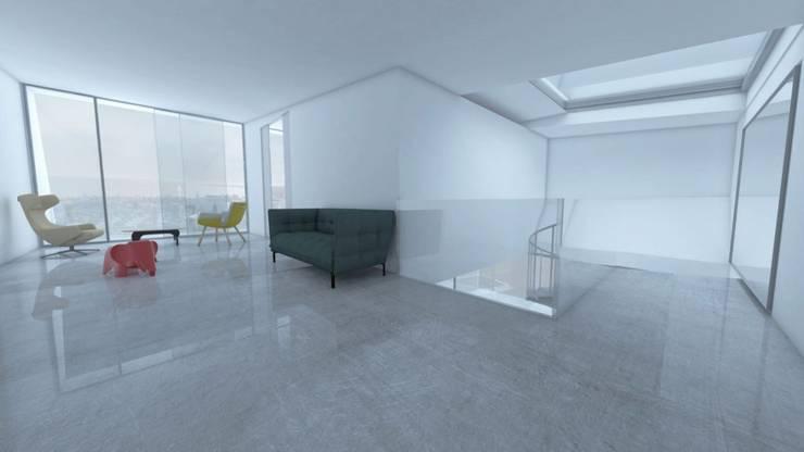 Vivienda Unifamiliar: Casas unifamilares de estilo  de SP_Arquitectura