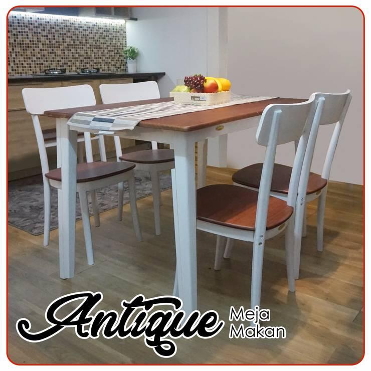 Antique Meja Makan:  Dining room by PT SHERISH CIPTA INTERINDO