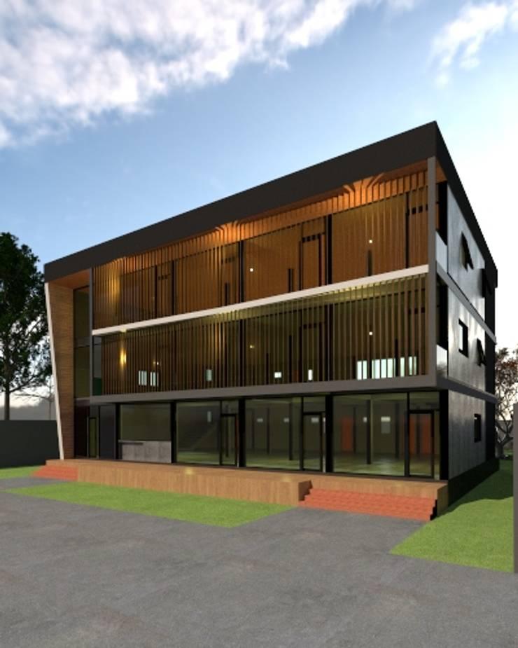 อพาร์ทเม้นท์จำลอง 3D :  บ้านและที่อยู่อาศัย by บริษัท พี นัมเบอร์วัน ดีไซน์ แอนด์ คอนสตรัคชั่น จำกัด