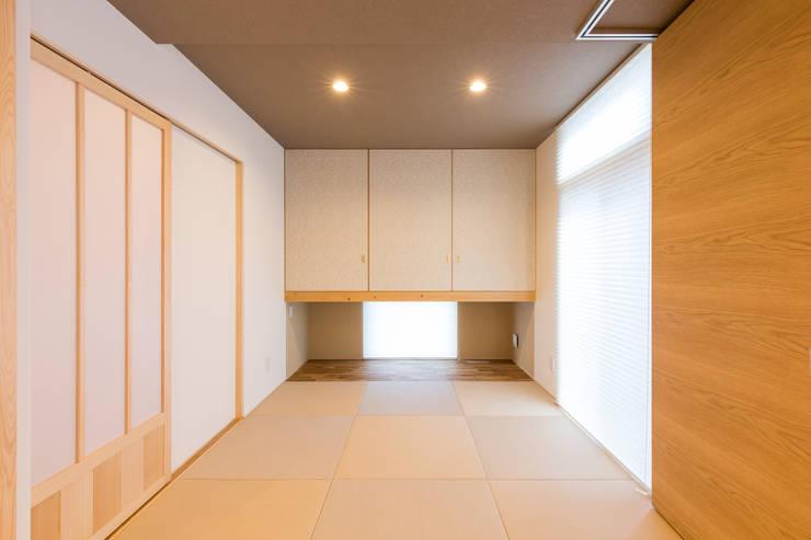 安曇野の家。: 株式会社ルティロワ 一級建築士事務所が手掛けた和のアイテムです。,