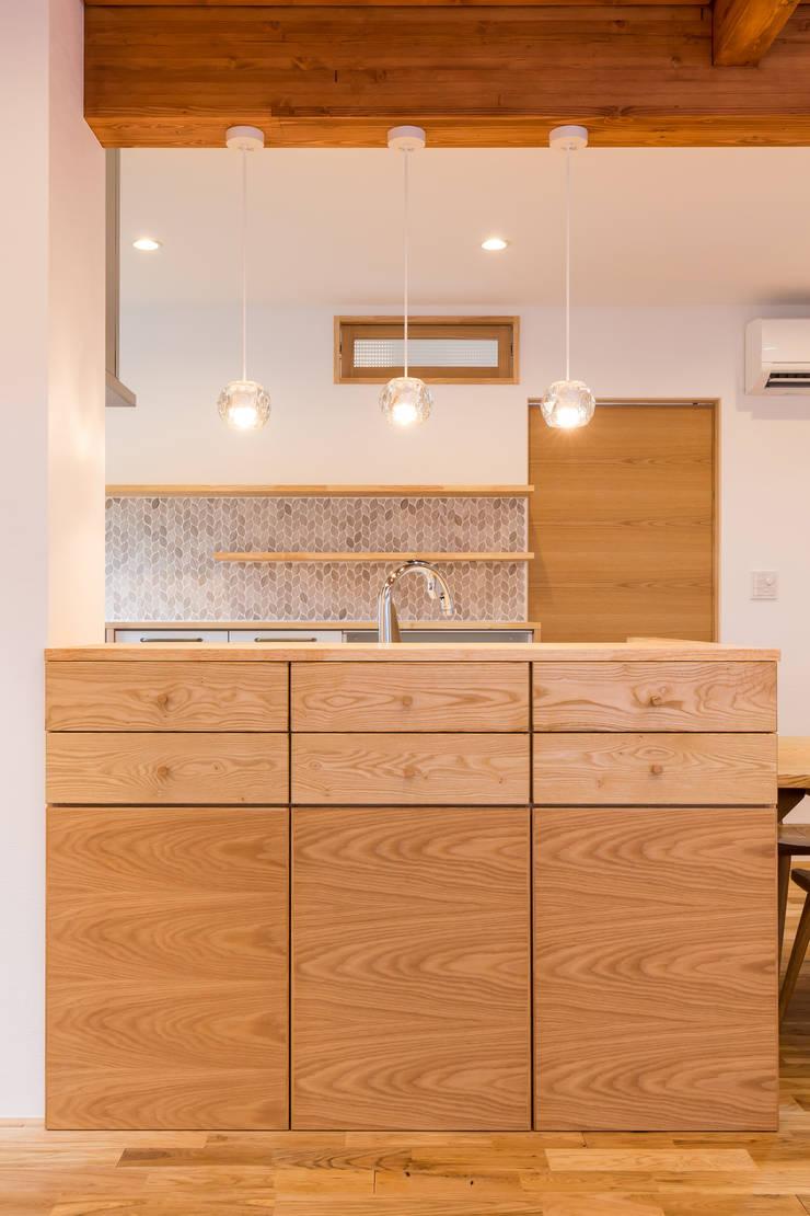 安曇野の家。: 株式会社ルティロワ 一級建築士事務所が手掛けた家庭用品です。,