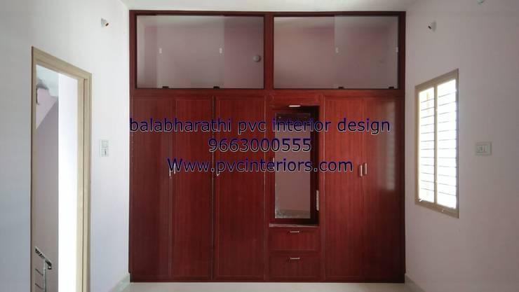 jomsons interior in trichy 9663000555:  Bedroom by balabharathi pvc interior design