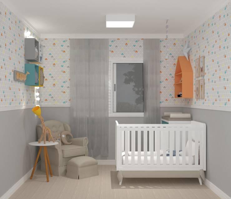 Projeto Quarto Bebê: Quartos de bebê  por Studio G - Arquitetura e Design