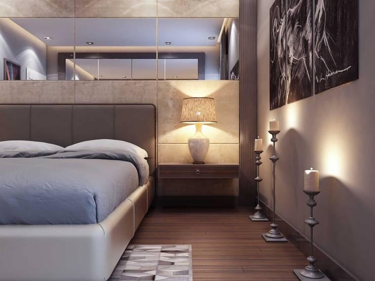 Slaapkamer door ANTE MİMARLIK