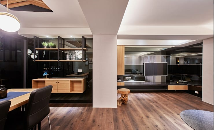 老屋的記憶:  玄關、走廊與階梯 by 安提阿設計有限公司