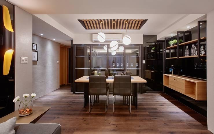老屋的記憶:  餐廳 by 安提阿設計有限公司