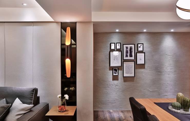 老屋的記憶:  牆壁與地板 by 安提阿設計有限公司