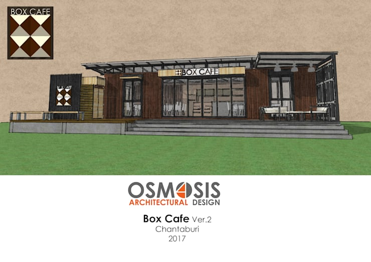Box Cafe Ver.2:   by OSMOSIS Architectural Design