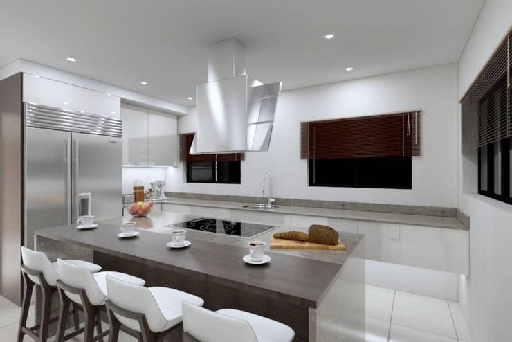 Kitchen 2 view 2:   by Linken Designs