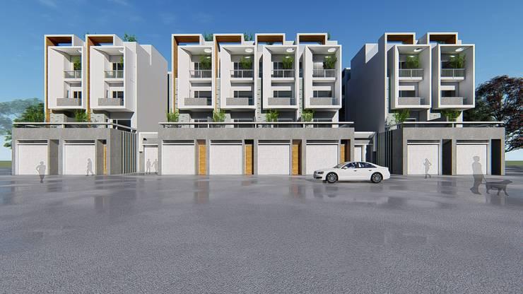 理境 臨路戶 :  房子 by 尋樸建築師事務所