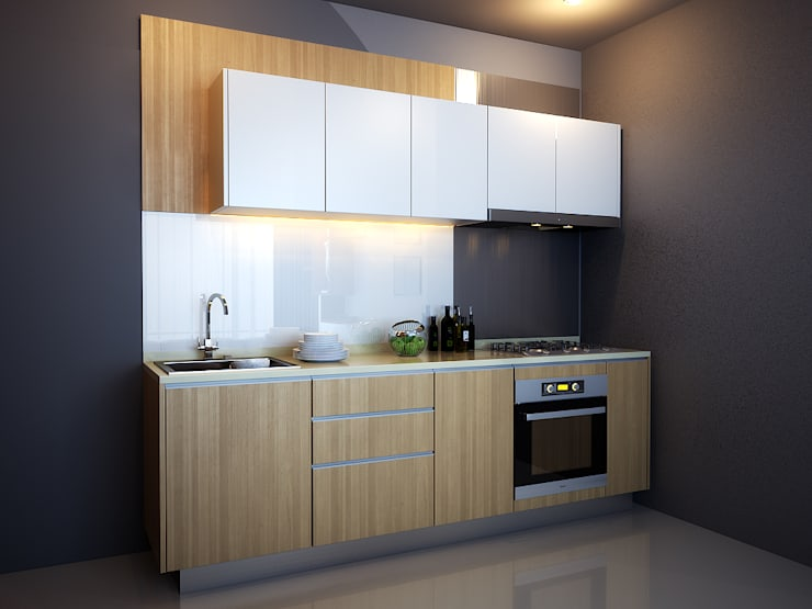 Kitchen Set:  Unit dapur by Ectic
