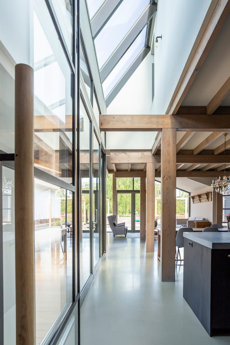 Kitchen by Boon architecten, Modern