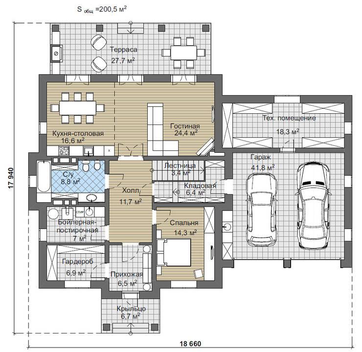 Дарли-2_273 кв.м:  в . Автор – Vesco Construction