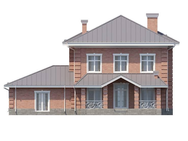 Дарли-2_273 кв.м: Дома в . Автор – Vesco Construction