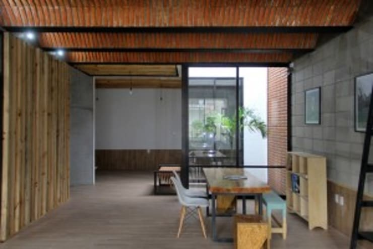 Casa Jardín: Comedores de estilo  por Apaloosa Estudio de Arquitectura y Diseño