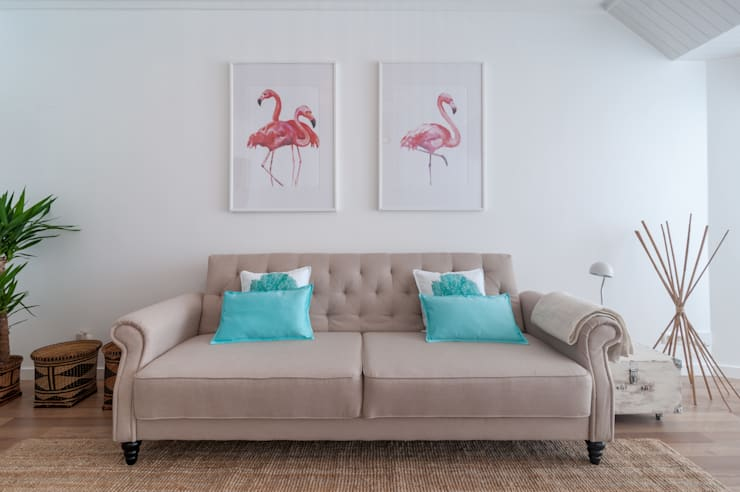 SALA DE ESTAR: Sala de estar  por OW ARQUITECTOS lda | simplicity works