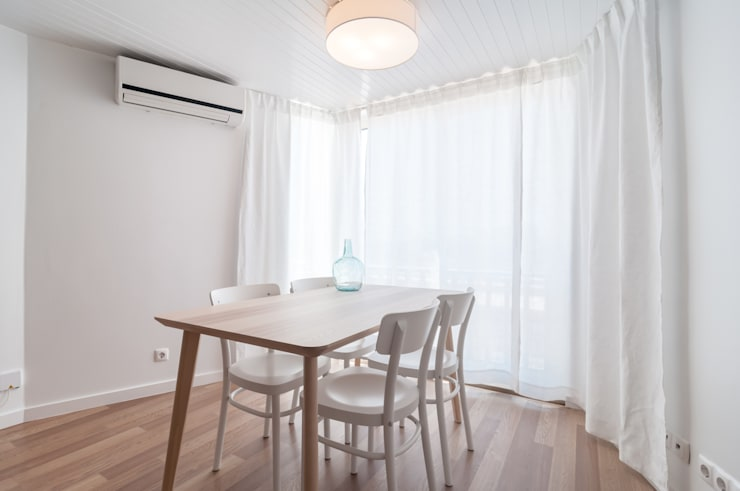 SALA DE JANTAR: Salas de jantar  por OW ARQUITECTOS lda | simplicity works