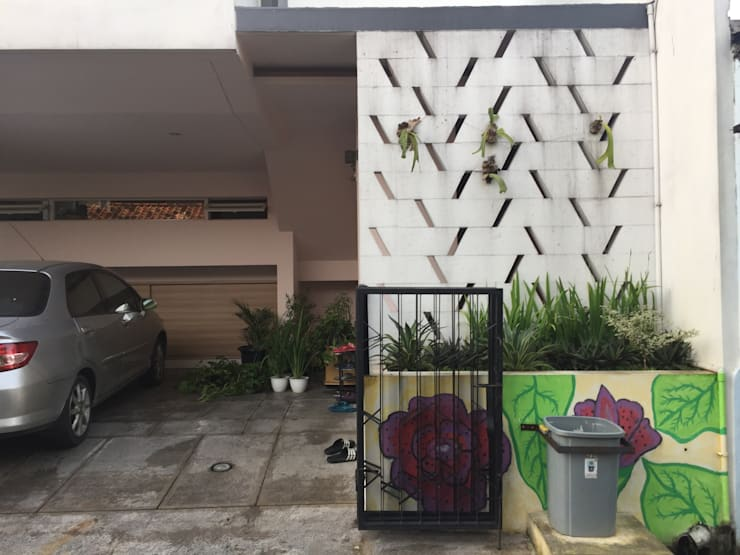 Wadasari house:   by MF+ Studios