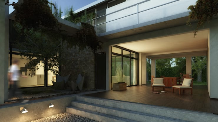 Rr+a  bureau de arquitectos - La Plata의  패시브 하우스
