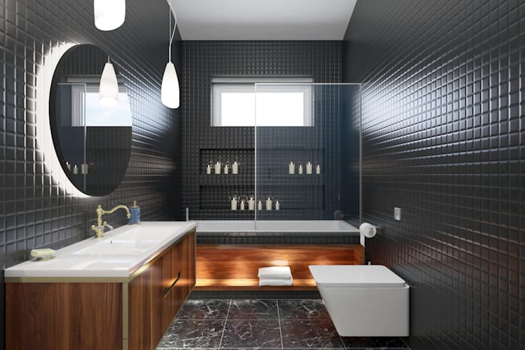 Bathroom by PRODİJİ DİZAYN