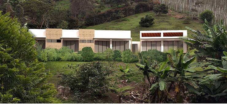 Country house by Andrés Hincapíe Arquitectos  A H A,