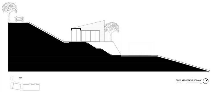 by Andrés Hincapíe Arquitectos  A H A