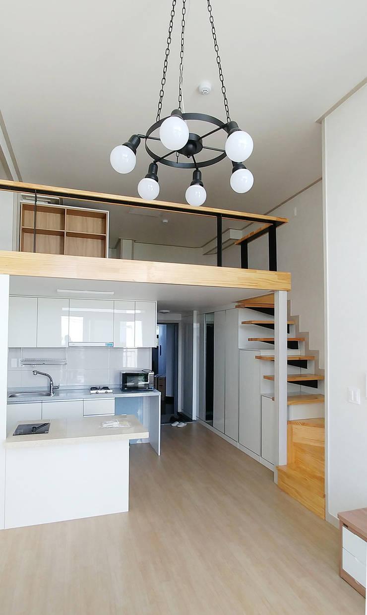 서광리 다가구주택: 건축사사무소 지음의  주방
