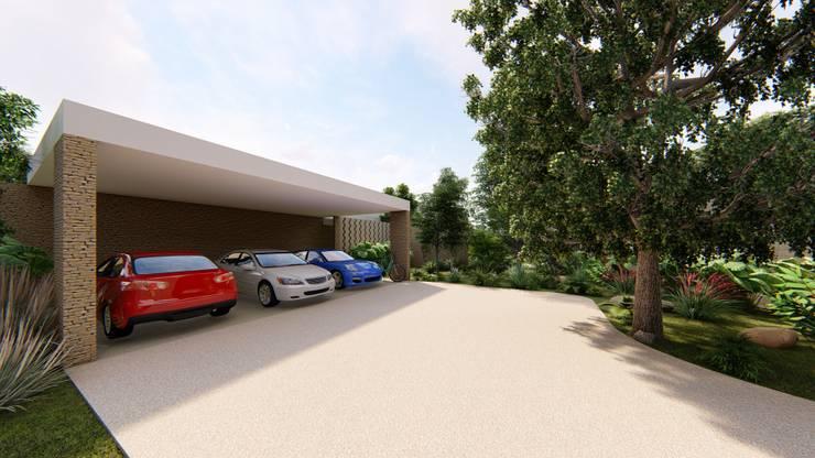 Casa Arboleda: Casas de estilo  por EMERGENTE | Arquitectura