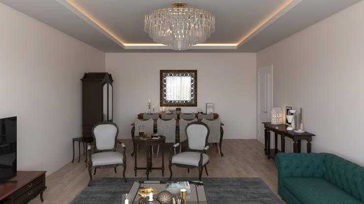 Salon classique par Dündar Design - Mimari Görselleştirme Classique
