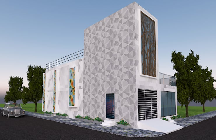 Small houses by Gurooji Designs