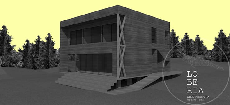 Single family home by Loberia Arquitectura