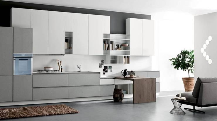 Scaccomatto - Fenix: Cocina de estilo  por BMAA