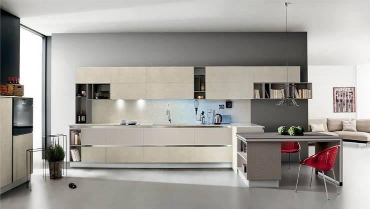 Venetia - Gres/Vetro: Cocina de estilo  por BMAA