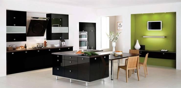 Nội thất phòng bếp - đảo bếp:   by Kiến trúc Doorway
