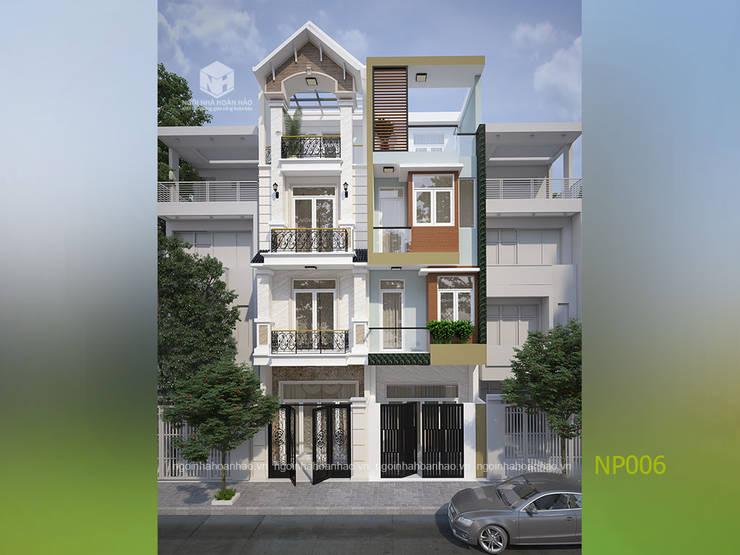 Nhà phố đẹp ở tp.HCM:   by Công ty TNHH Thiết kế Xây dựng Ngôi Nhà Hoàn Hảo