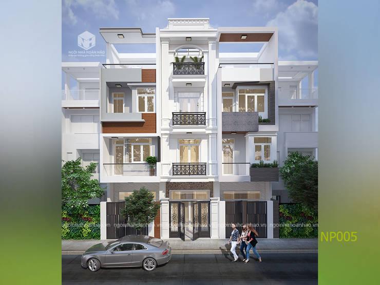 by Công ty TNHH Thiết kế Xây dựng Ngôi Nhà Hoàn Hảo