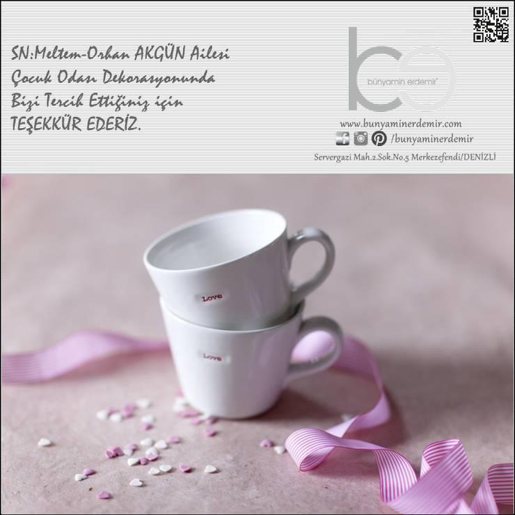 Bünyamin Erdemir Tasarım ve Uygulama – MELTEM-ORHAN AKGÜN/2016:  tarz Kız çocuk yatak odası