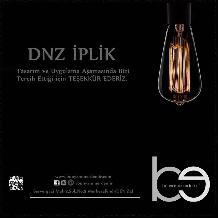 Bünyamin Erdemir Tasarım ve Uygulama – DNZ İPLİK/2016:  tarz Ofis Alanları & Mağazalar